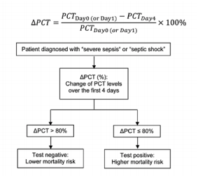 Percent change of PCT chart and equation